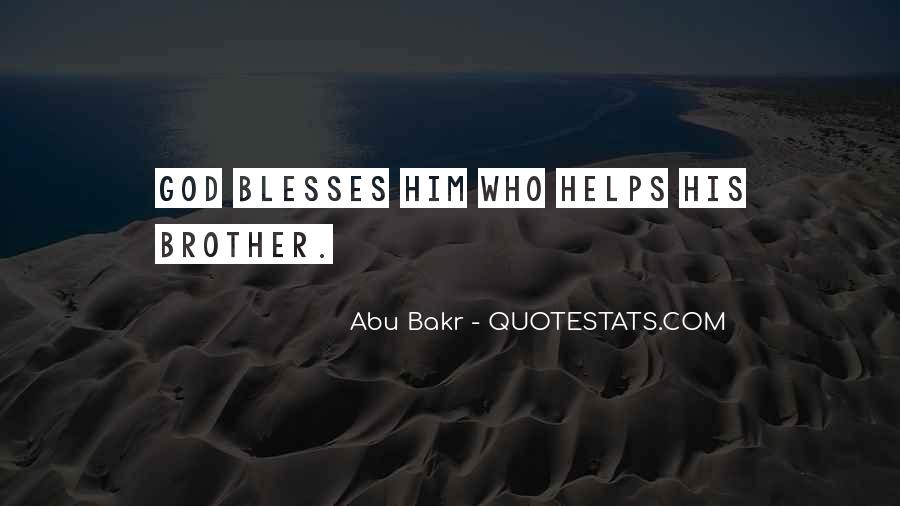 Abu Bakr Quotes #637190