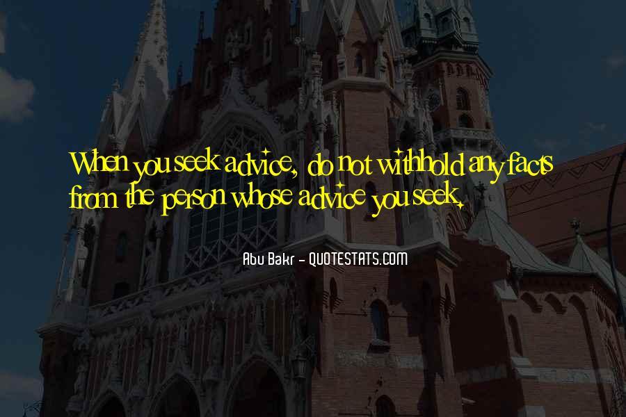 Abu Bakr Quotes #804363