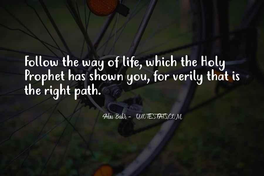 Abu Bakr Quotes #919186