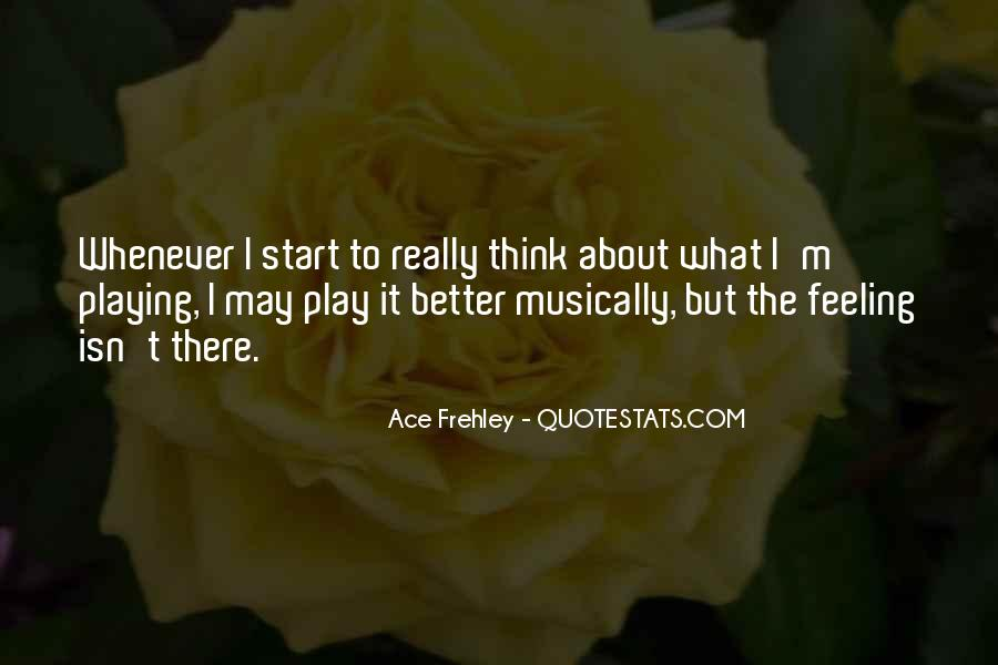 Ace Frehley Quotes #414927