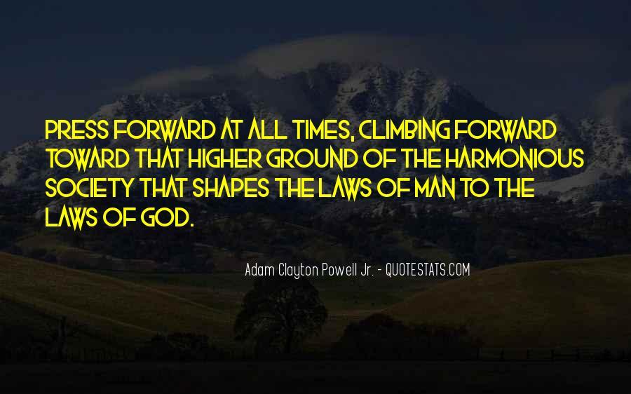 Adam Clayton Powell Jr. Quotes #1661583