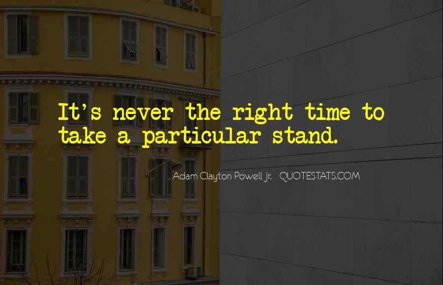 Adam Clayton Powell Jr. Quotes #1664581