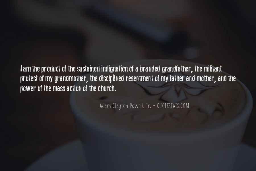 Adam Clayton Powell Jr. Quotes #314446