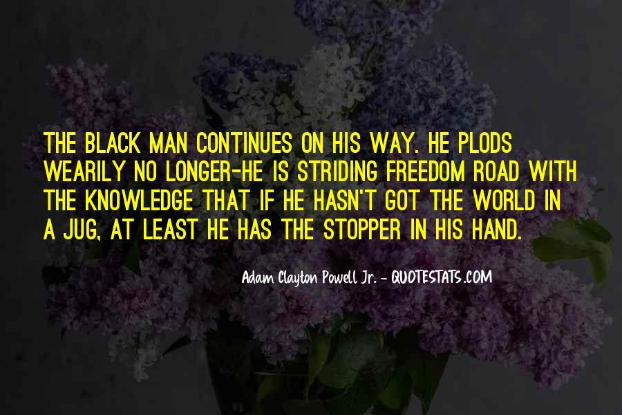Adam Clayton Powell Jr. Quotes #645045