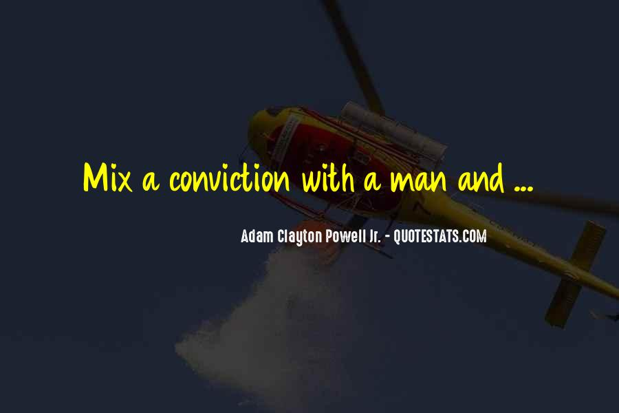 Adam Clayton Powell Jr. Quotes #64737