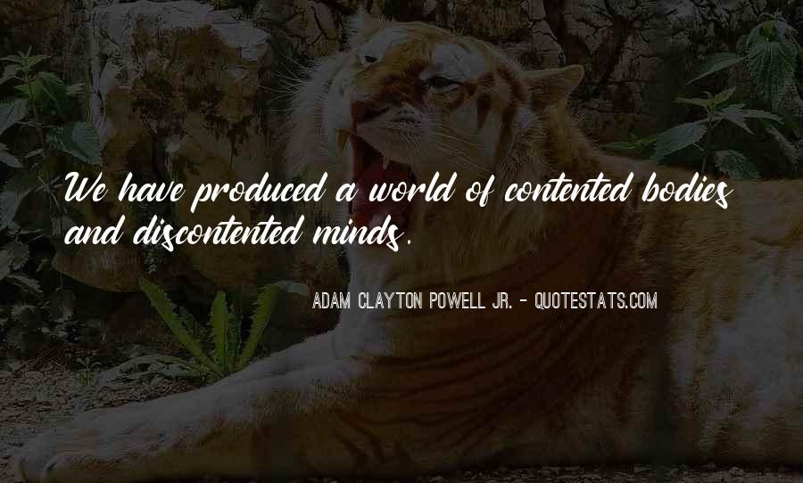 Adam Clayton Powell Jr. Quotes #759034