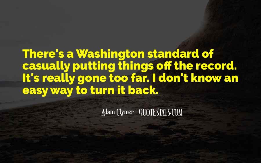 Adam Clymer Quotes #253706