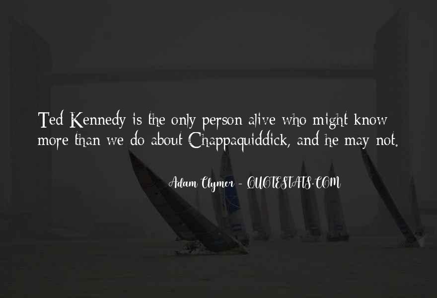 Adam Clymer Quotes #66047