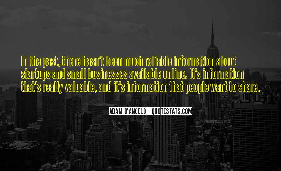 Adam D'Angelo Quotes #1713314