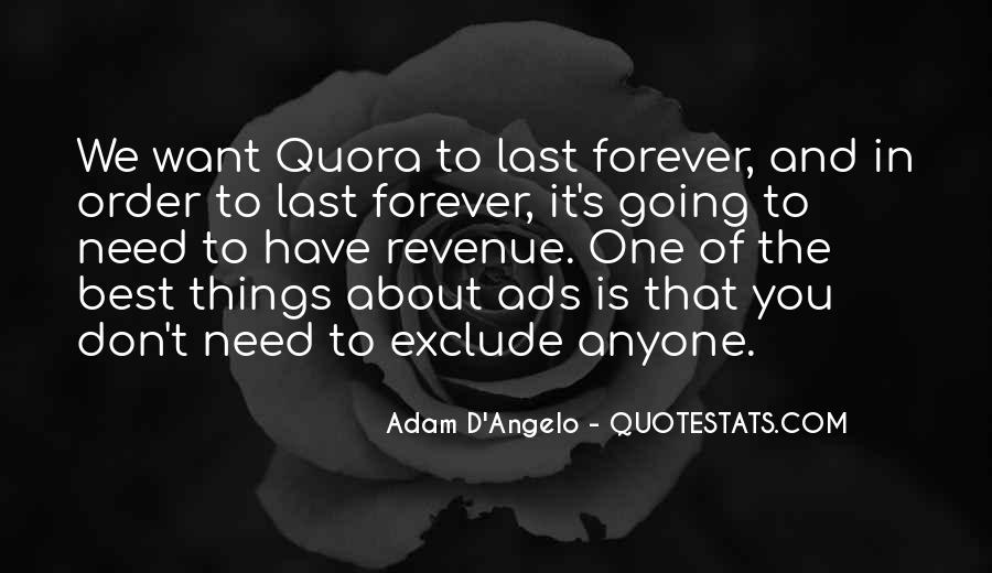Adam D'Angelo Quotes #569137