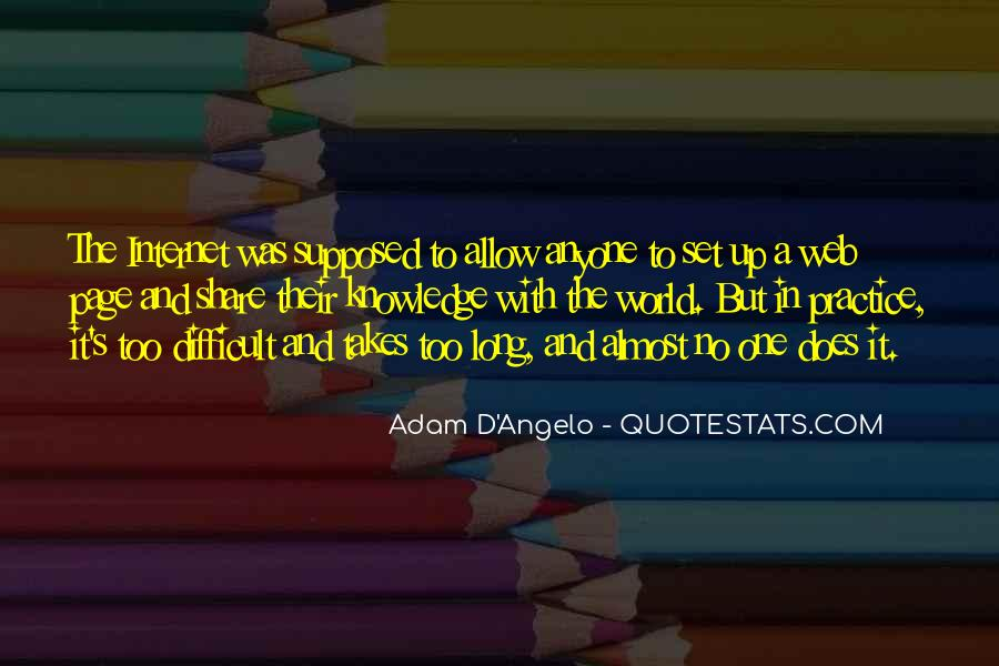 Adam D'Angelo Quotes #928462