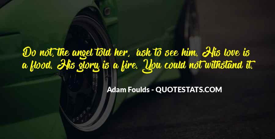 Adam Foulds Quotes #61329