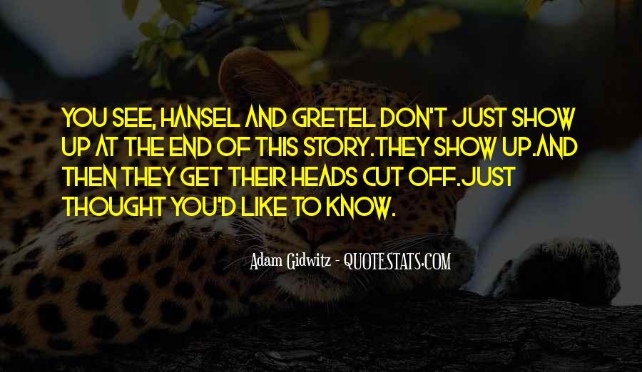 Adam Gidwitz Quotes #895574