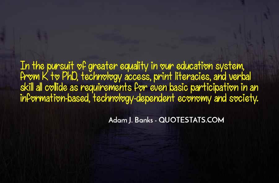 Adam J. Banks Quotes #1666866