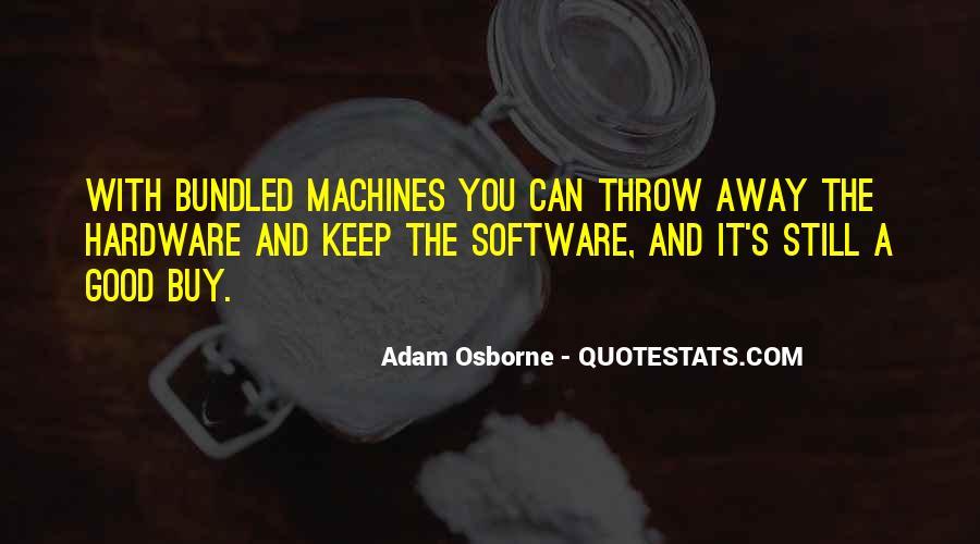 Adam Osborne Quotes #1251049