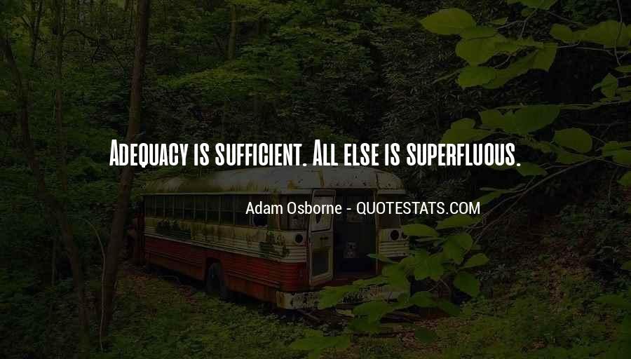 Adam Osborne Quotes #1724356