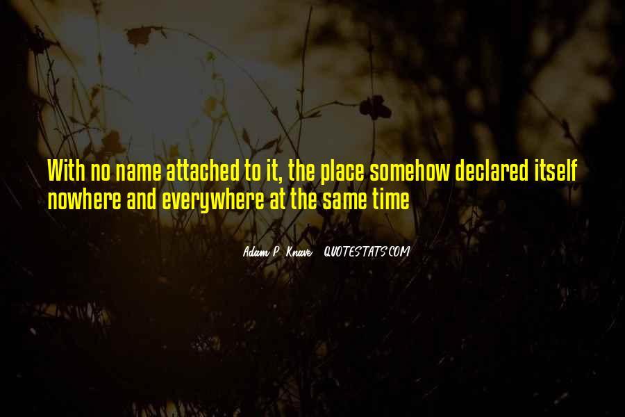 Adam P. Knave Quotes #1145963