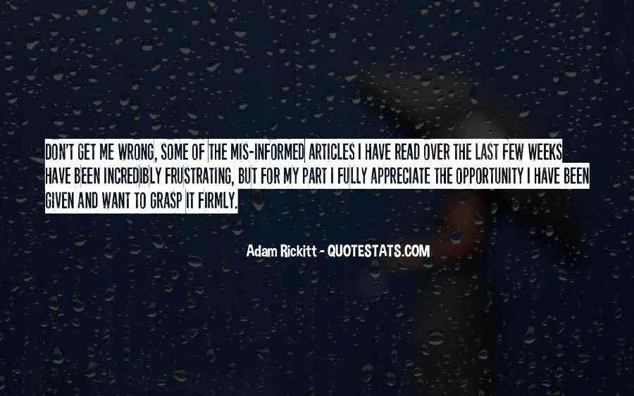 Adam Rickitt Quotes #1175868