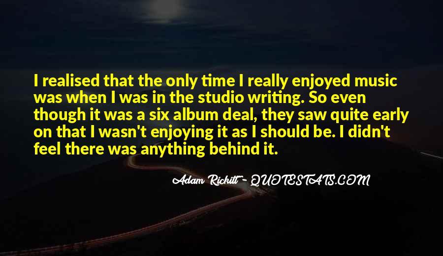 Adam Rickitt Quotes #435147