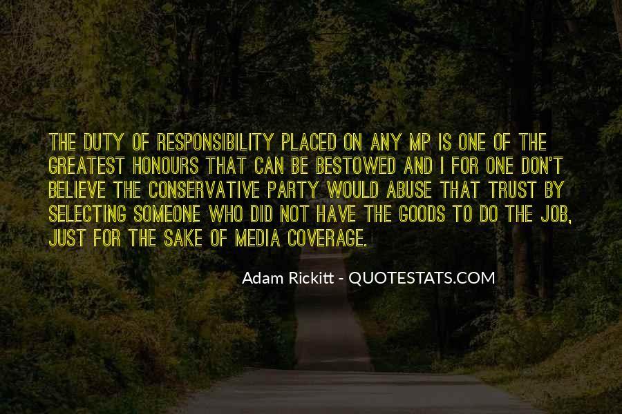Adam Rickitt Quotes #499927