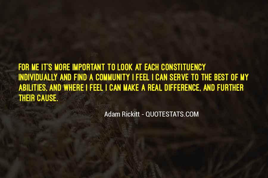 Adam Rickitt Quotes #502549