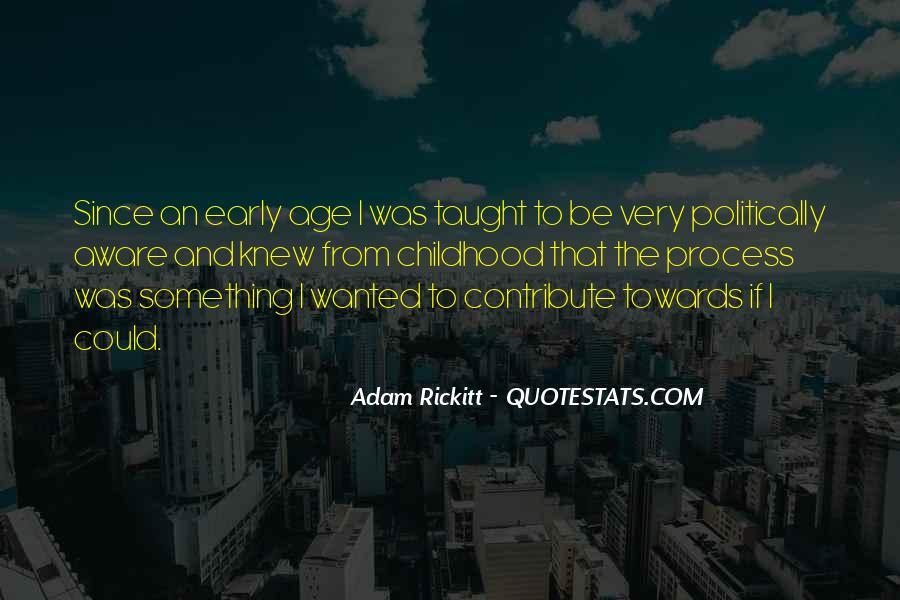 Adam Rickitt Quotes #831367