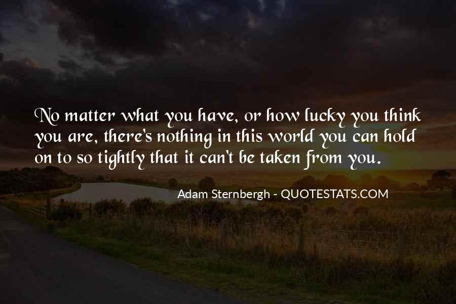 Adam Sternbergh Quotes #430092