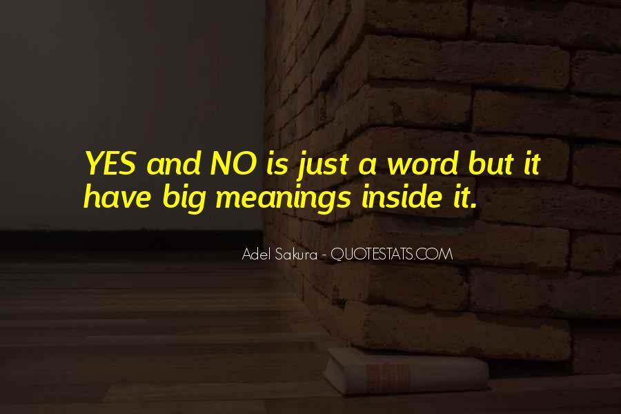 Adel Sakura Quotes #1637814