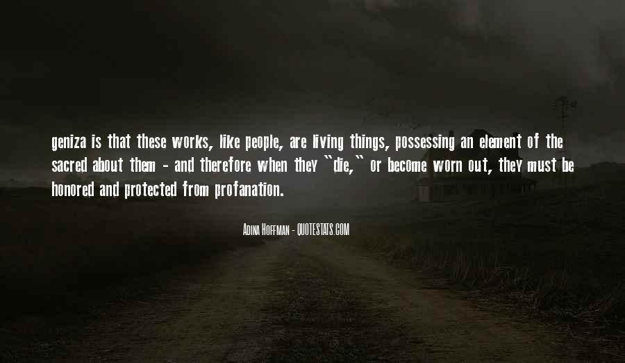 Adina Hoffman Quotes #266268