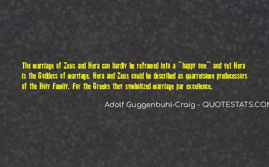 Adolf Guggenbuhl-Craig Quotes #1222725