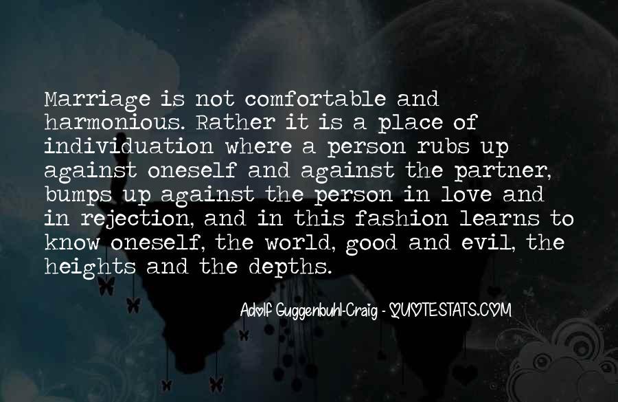 Adolf Guggenbuhl-Craig Quotes #1381086