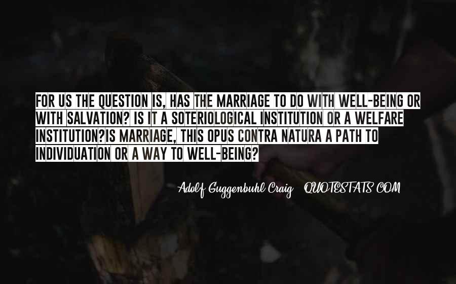 Adolf Guggenbuhl-Craig Quotes #688204