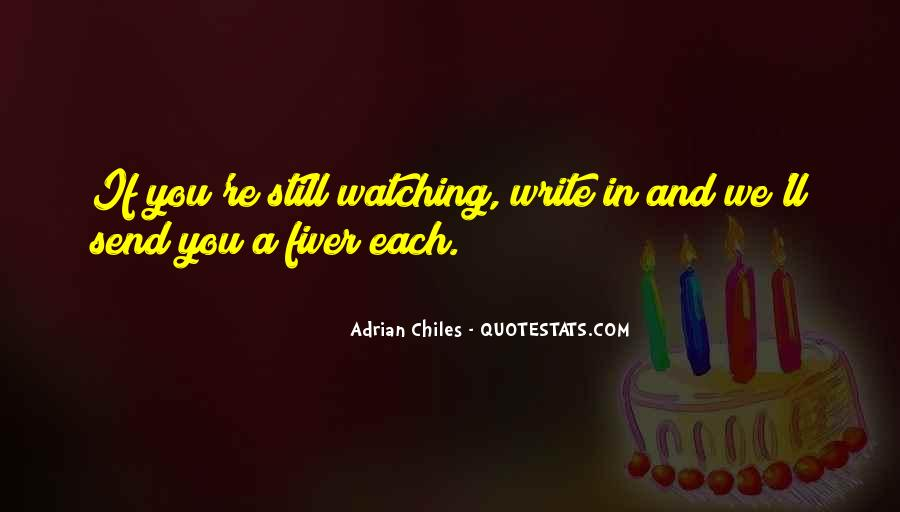 Adrian Chiles Quotes #866121