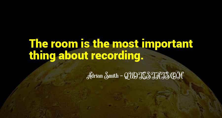 Adrian Smith Quotes #299319