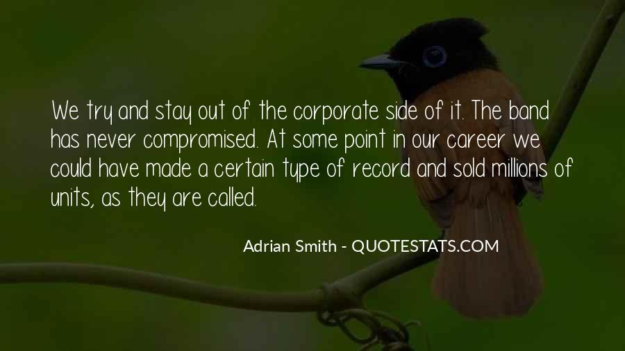 Adrian Smith Quotes #83136