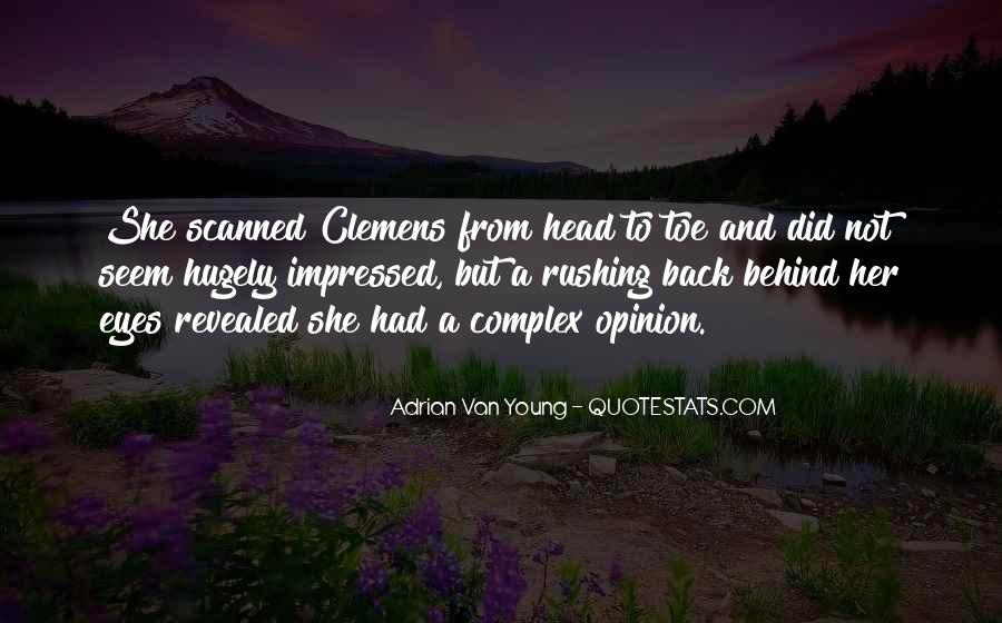 Adrian Van Young Quotes #1456281