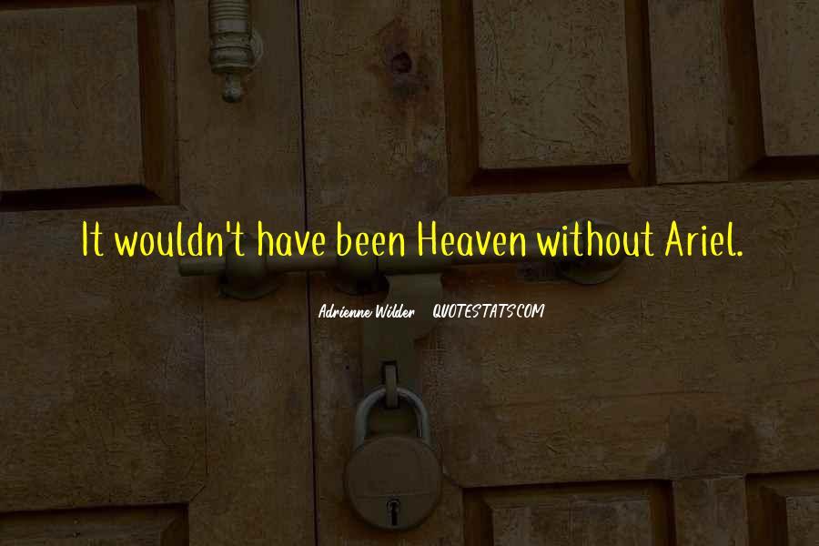 Adrienne Wilder Quotes #999351