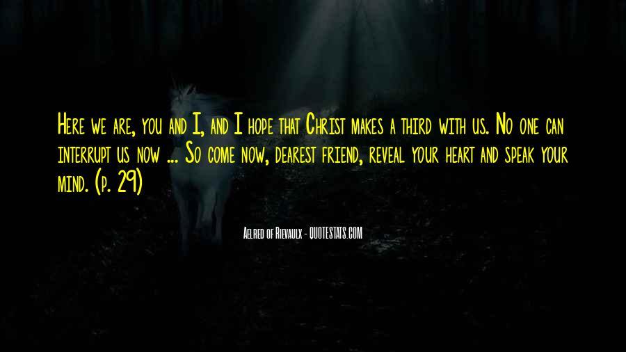 Aelred Of Rievaulx Quotes #616007