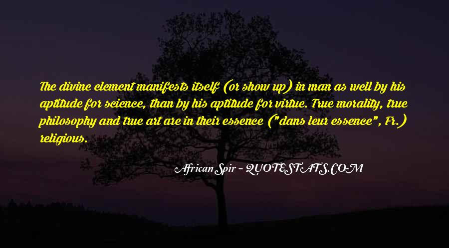 African Spir Quotes #902490