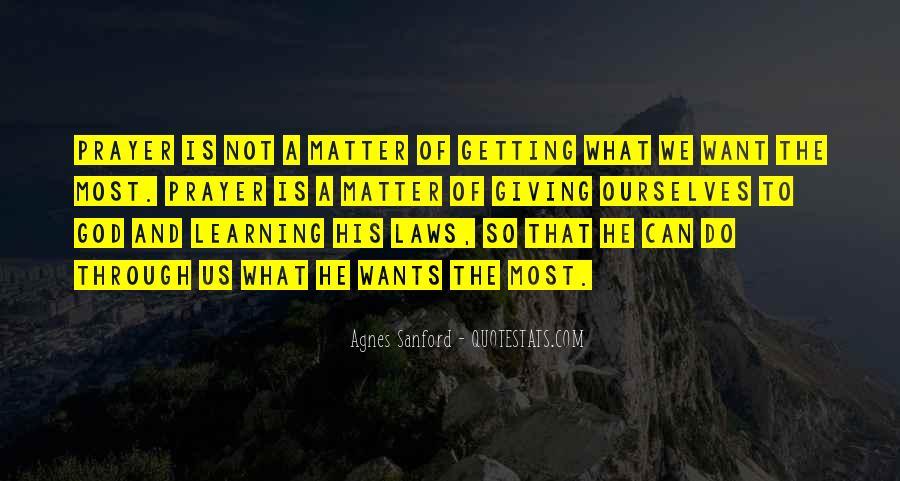 Agnes Sanford Quotes #632770