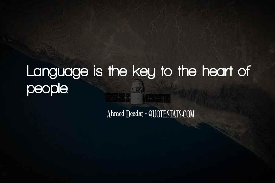 Ahmed Deedat Quotes #1238113