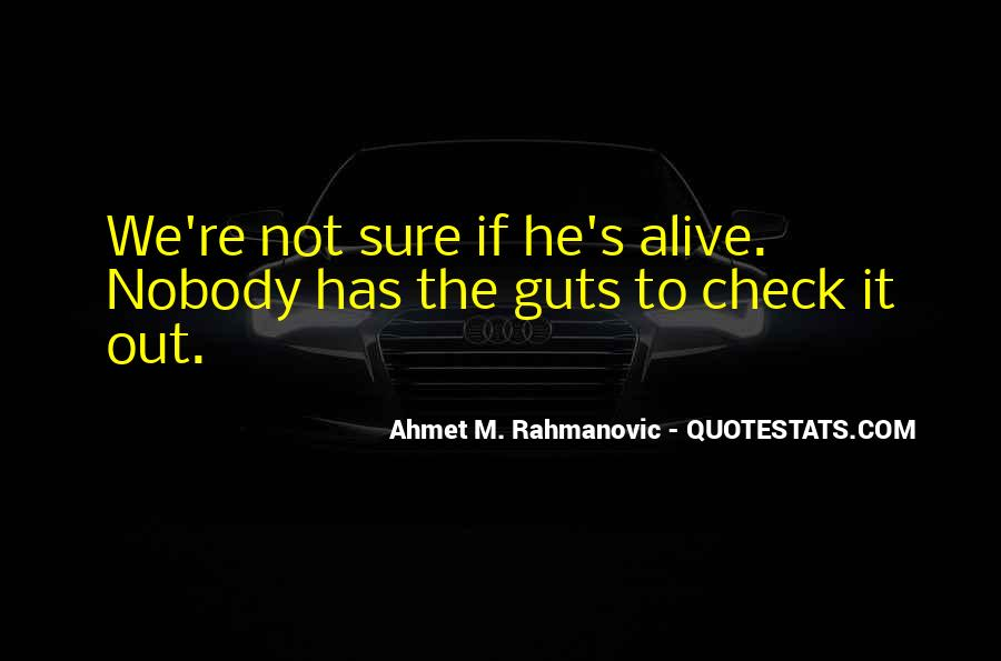 Ahmet M. Rahmanovic Quotes #1737059