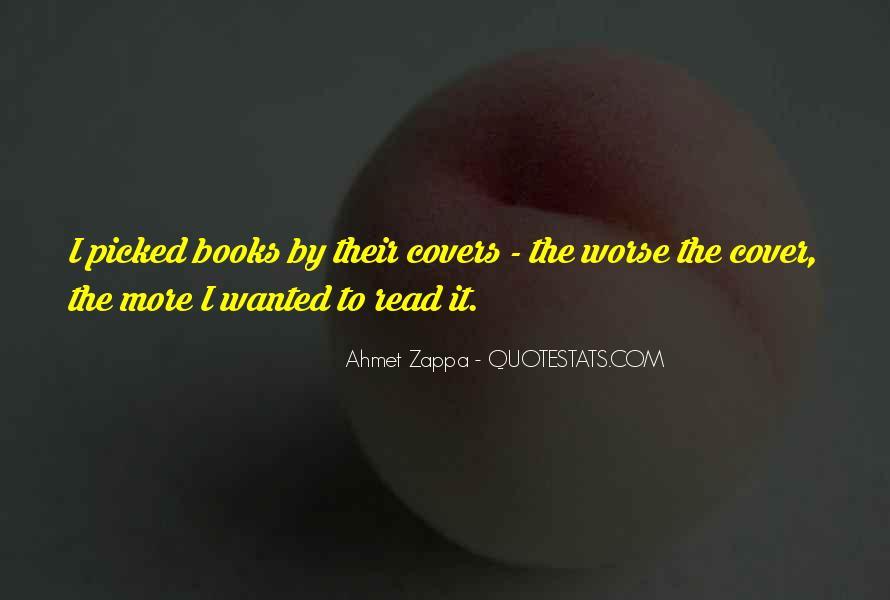 Ahmet Zappa Quotes #126443