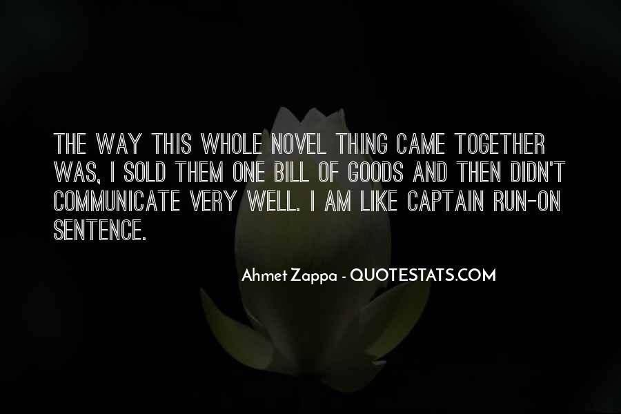 Ahmet Zappa Quotes #1399270