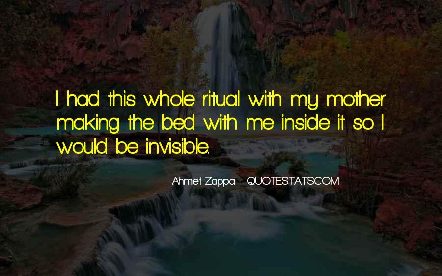 Ahmet Zappa Quotes #183017