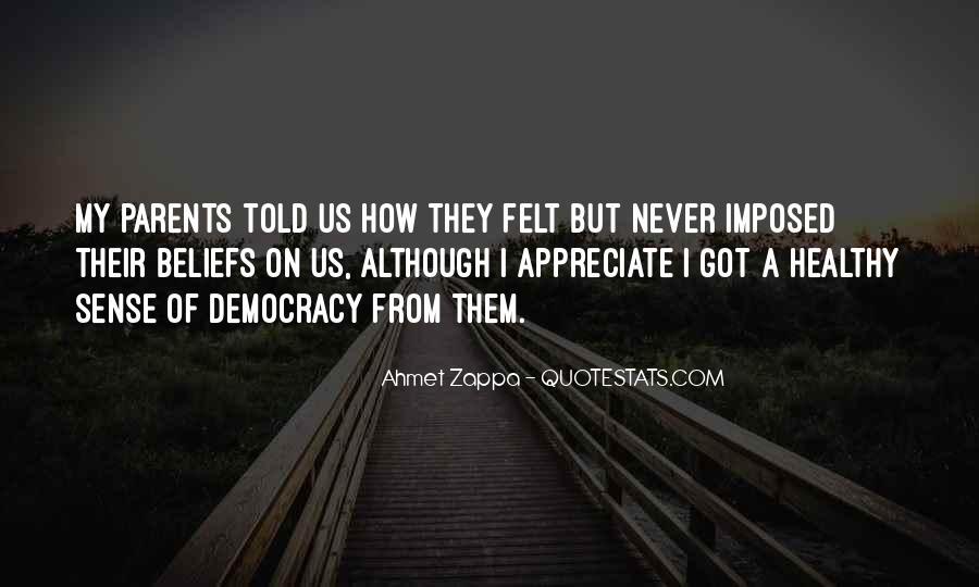 Ahmet Zappa Quotes #686800