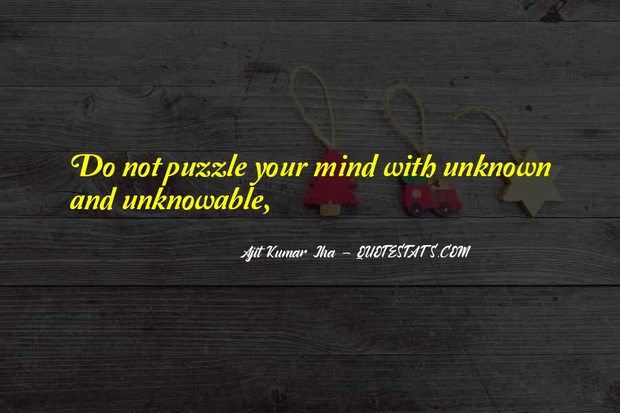 Ajit Kumar Jha Quotes #1789751