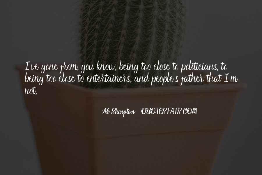 Al Sharpton Quotes #165222