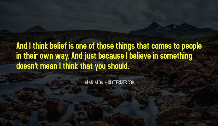 Alan Alda Quotes #763966