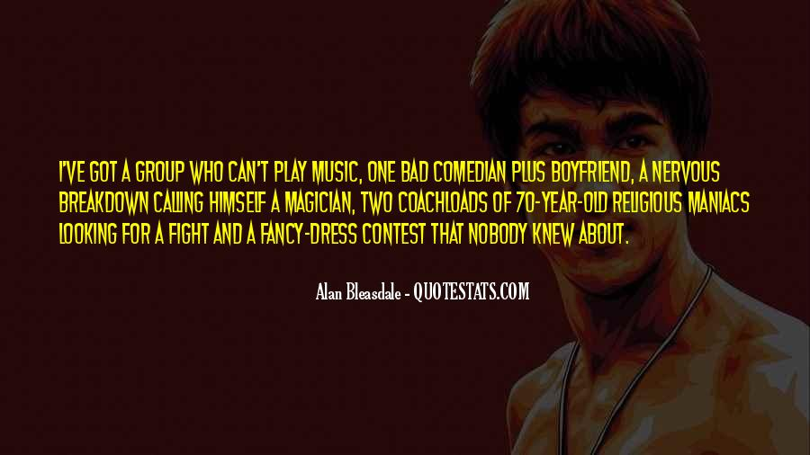 Alan Bleasdale Quotes #441451
